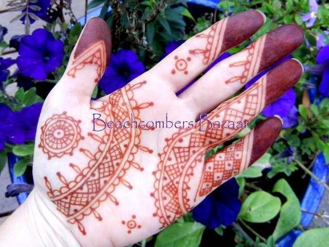 Get 100 Grams Of Each Henna