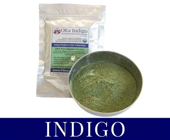 ORa INDIGO Powder: Natural Organic Indigo for Hair 100 grams