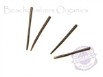 Extra pins that fit all Beachcombers organic earrings, for wood, bone and horn earrings.