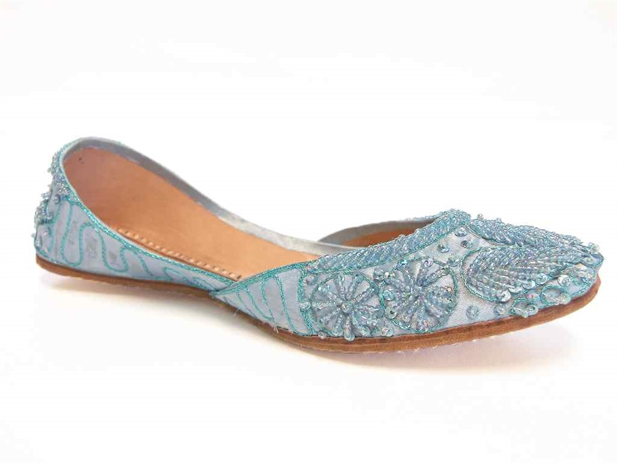 Something Blue Wedding Shoes Flats