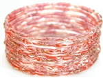 Red/Orange India GLASS Bracelet Build-A-Bangle S 2.6