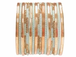 Elegant Sophisticated Glass Bangles