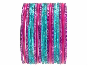 Classic Indian Bangles in Brilliant Colors