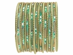 Classic Green Indian Bangles