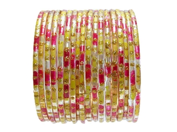 Classic Indian Glass Bangle Bracelets