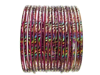 Indian Glass Bangles Bracelet Sets