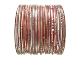Translucent Indian Glass Bangles Bracelet Sets