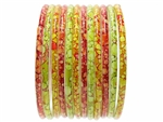 Thick Heavy Indian Glass Bangles