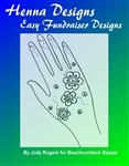 Henna design eBook  for fundraisers, events, and festivals for the beginning henna artist..