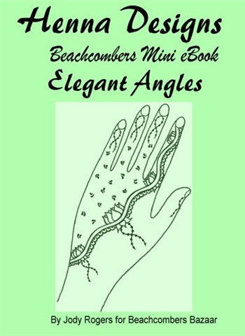 Elegant Angles Mini eBook is a great henna book using the sangeet strip concept in a simple and modern style.