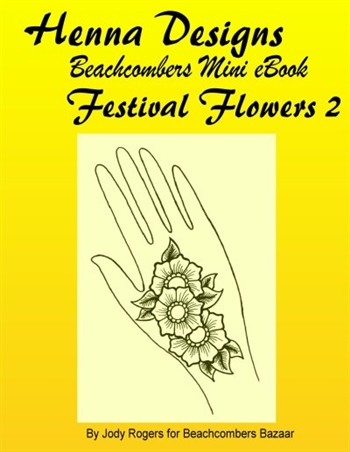 Mini Henna Design eBook Focused On One Henna Design Style
