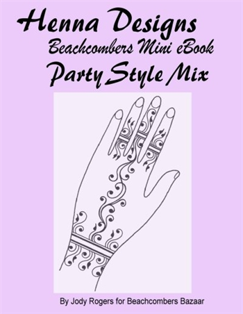 Mini design eBook focused on creating easy party and event designs for henna artists.  Great for new henna artists too, get a couple pages of modern fusion henna designs for a bargain.