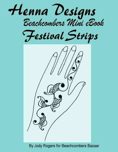 Mini Design Ebook Festival Strips Basic Festival Party Strips Mehndi Designs Ebook 6 Designs