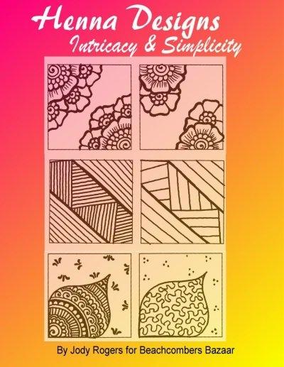 Henna Intricacy Simplicity Design Ebook Henna Design Educational Ebook 31 Designs