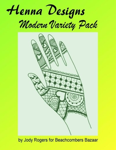 Printable Henna Tattoo Design Book Downloadable EBook Larger Photo
