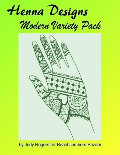 Henna Modern Variety Pack Design Ebook Fresh New Henna Designs Styles 42 Designs