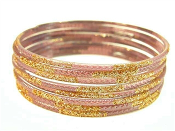 Taupe Indian GLASS Bracelets Build-A-Bangle S 2.6