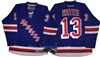 Reebok Premier NHL 90th/100th Anniv New York Rangers #13 Kevin Hayes Home Jersey