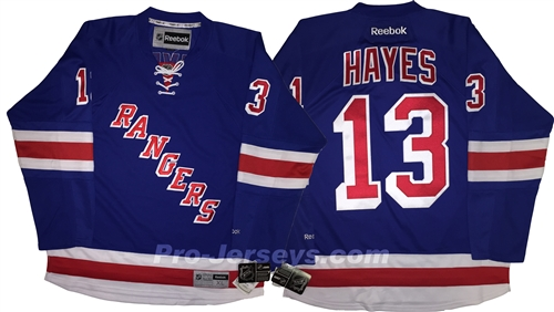online store 1a178 1e0db Reebok Premier NHL 90th/100th Anniv New York Rangers #13 Kevin Hayes Home  Jersey