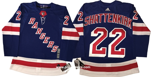 Adidas 2018 Authentic NHL New York Rangers  22 Shattenkirk Jersey Larger  Photo ... a31edc67951