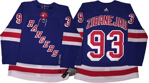 Adidas 2018 Authentic New York Rangers  93 Zibanejad Jersey fd4acba1c7c
