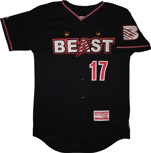 newest collection 511db d9b9c LI Beast Custom Piped Majestic Cool Base Jersey