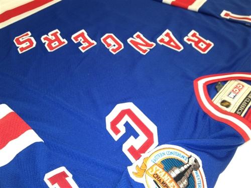 55800e967e0 Official CCM 1994 New York Rangers  11 Mark Messier Stanley Cup Jersey