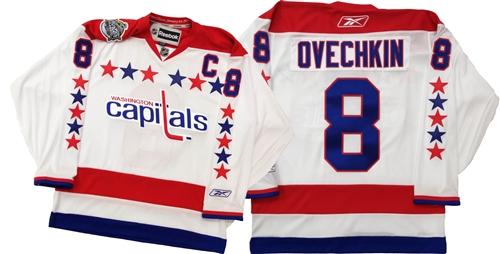online retailer 06e82 c9901 Official Reebok Washington Capitals #8 Ovechkin Winter Classic Jersey