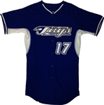 Authentic East Coast Jays Majestic Cool Base Jersey
