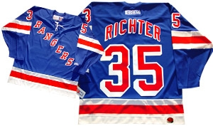 watch 360b9 f5e08 Official CCM 550 New York Rangers #35 Mike Richter Jersey