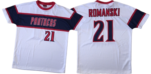 timeless design ccafd 6148d LI Panthers Sublimated Twill Baseball Jersey