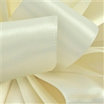 Offray Single Face Satin Ribbon - 028 Antique White