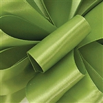 Offray Single Face Satin Ribbon - 528 Lemon Grass