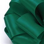 Offray Single Face Satin Ribbon - 587 Forest Green
