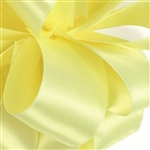 Offray Single Face Satin Ribbon - 617 Baby Maize