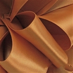 Offray Single Face Satin Ribbon - 690 Old Gold