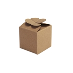 Clover Top Small Kraft Candy Boxes