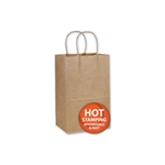 100% Recycled Kraft Shopping Bag-Small