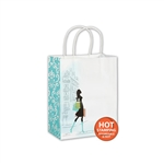 Chic Shopper Kraft paper shopping bags