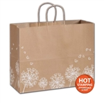 Wish Kraft paper shopping bags
