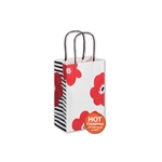 Poppies Kraft paper shopping bags