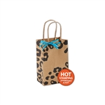 Wild Side Cheetah on Kraft paper shopping bags
