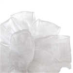 White Sheer Asiana Ribbon - 4 widths - 100 yards