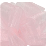 Light Pink Sheer Asiana Ribbon - 5 widths - 100 yards