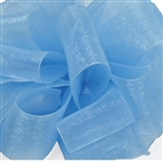 Blue Mist Sheer Asiana Ribbon - 5 widths - 100 yards