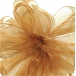 Offray Simply Sheer Asiana Ribbon - 690 Gold - 5 Widths - 100 yards