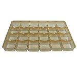 Gold 15 cavity trays to be used with Advent Boxes