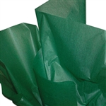 "Dry Waxed Green Tissue Paper - 20 x 30"" - 480 Sheets per Ream"