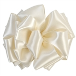 Offray Double Lush Satin Antique White