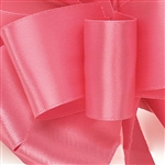 Hot Pink Double Faced Satin Ribbon - 5 widths - 100 yards
